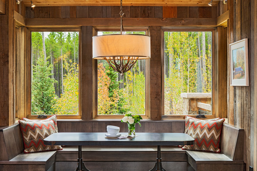 Timber Trail Breckenridge Colorado Dining Nook