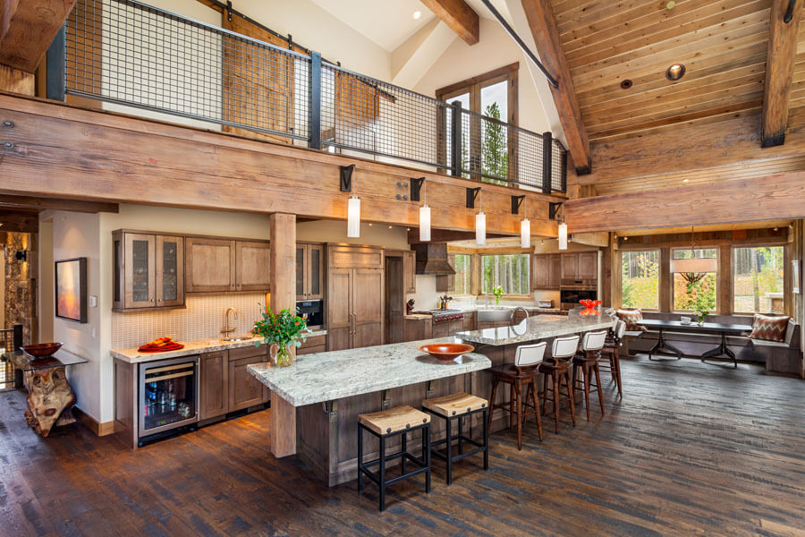Timber Trail Breckenridge Colorado Kitchen