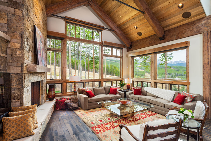 Timber Trail Breckenridge Colorado Living Room
