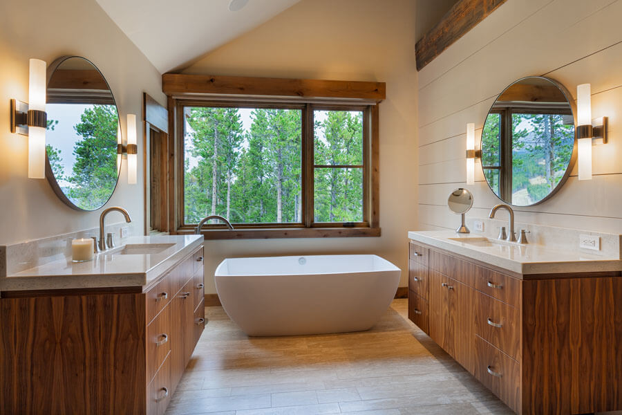 Timber Trail Breckenridge Colorado Bathroom